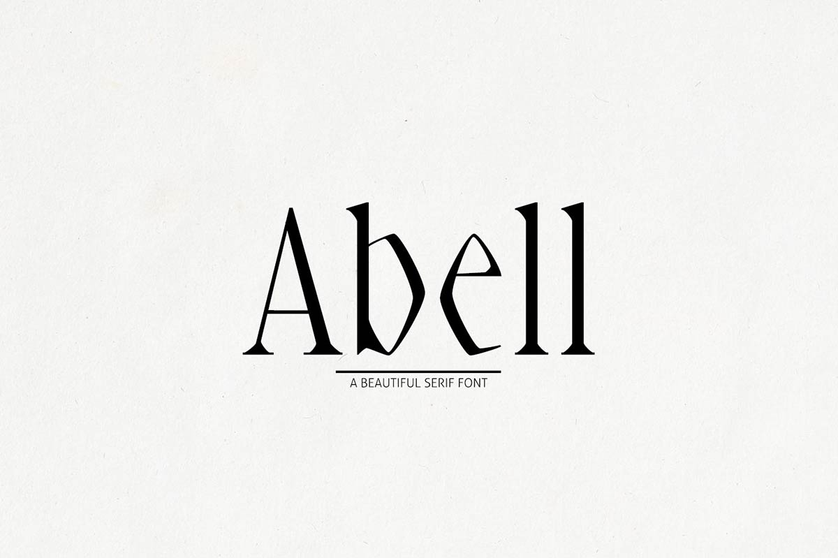 Free Abell Font