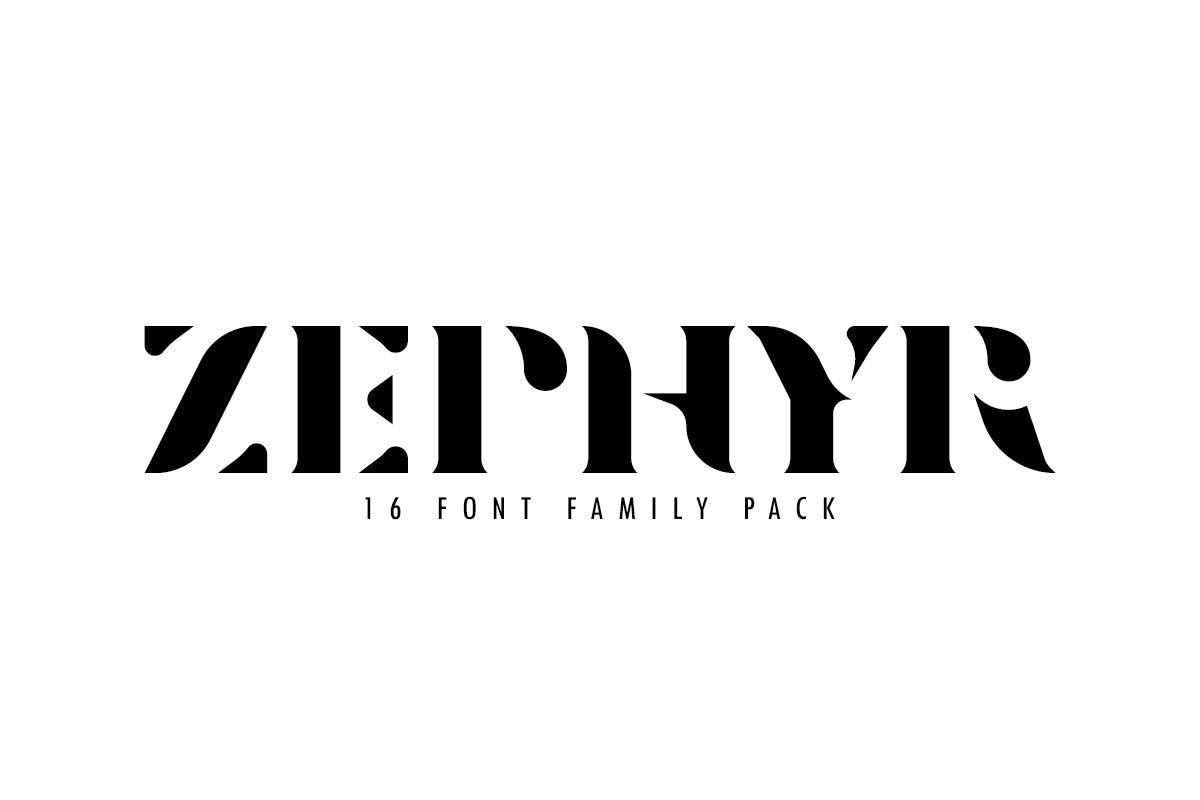 Free Zephyr Serif Font Family