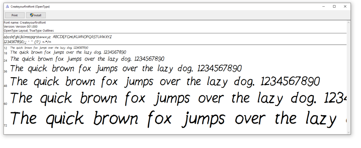 How To Make Your First Handwriting Font Easily