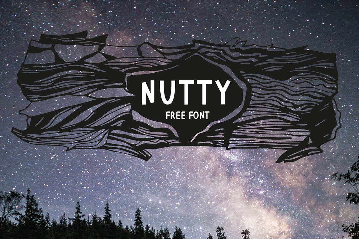 Free Nutty Font