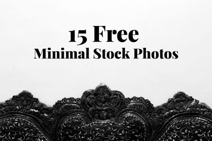 15 Free Minimal Stock Photos