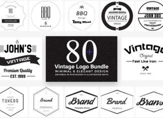 80+ Free Elegant Vintage Logo Templates