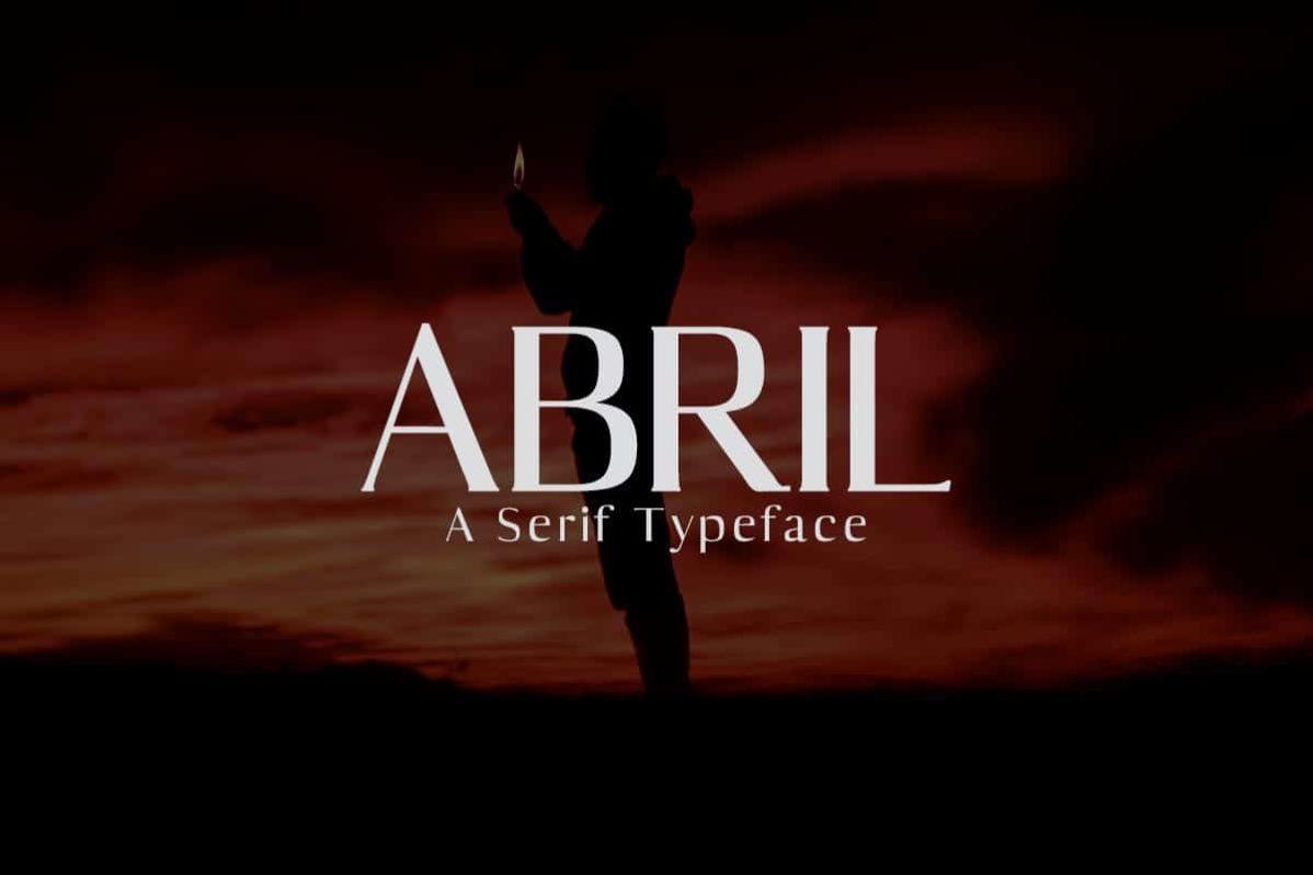 Free Abril Sans Serif Demo Font