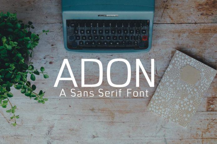 Free Adon Sans Serif Font