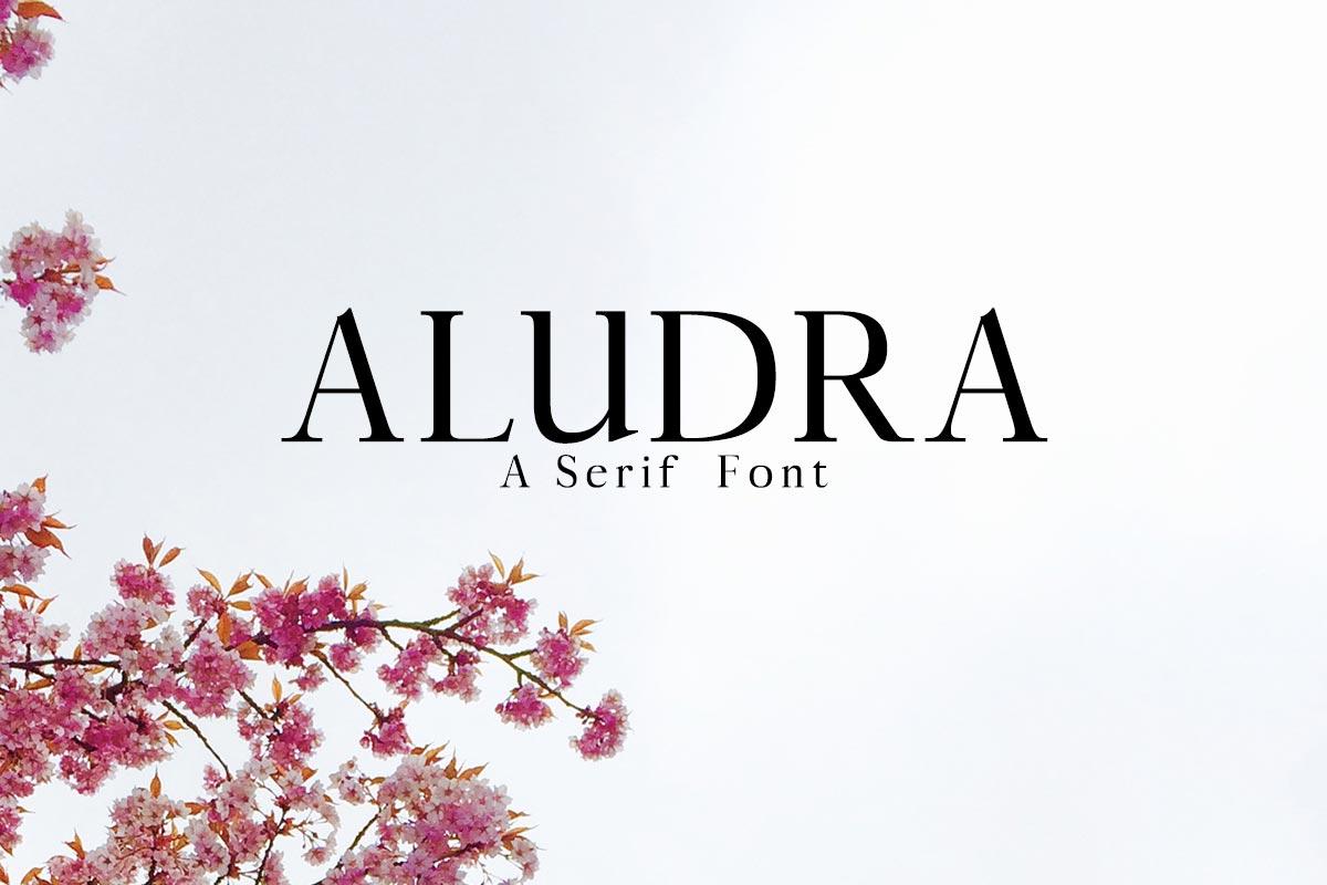 Free Aludra Serif Font