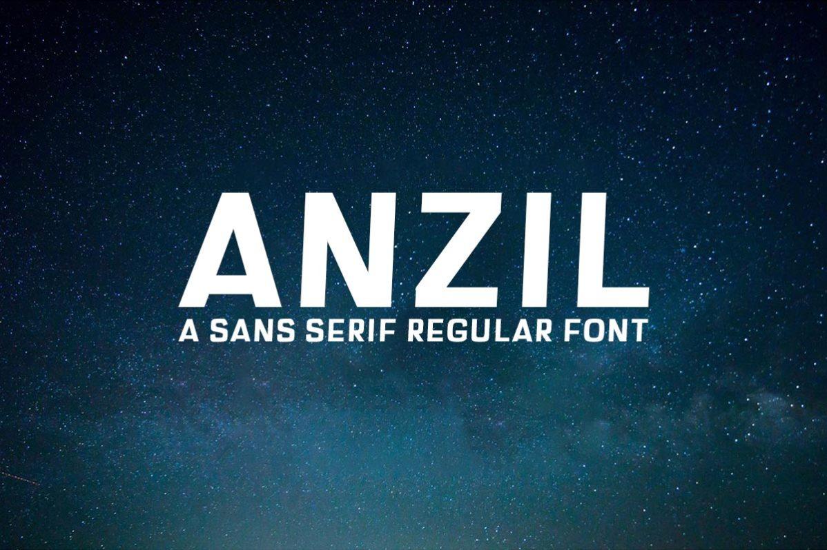 Free Anzil Sans Serif Font