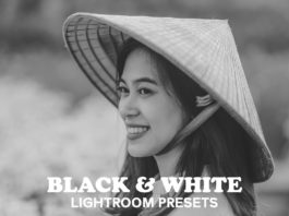 B&W Collection #Lightroom #Presets pack includes 6 free different Lightroom presets.