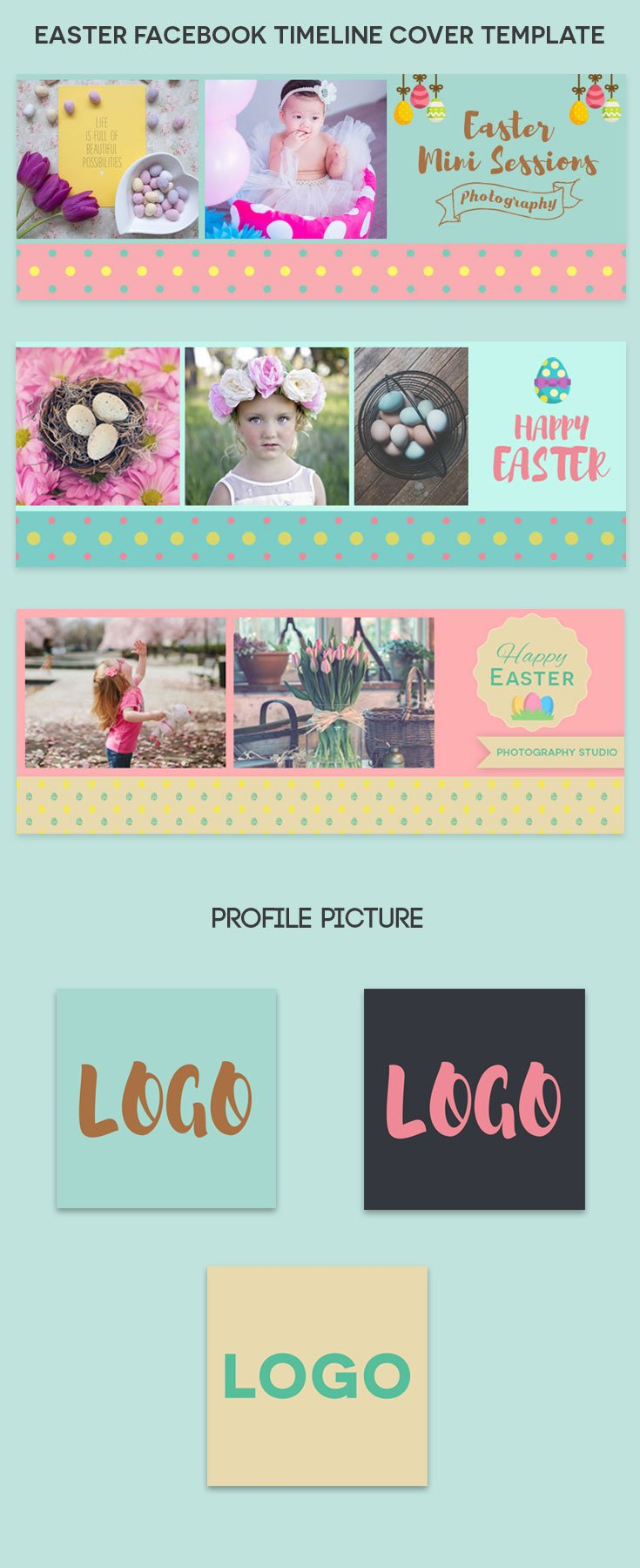 easter facebook cover template psd creativetacos 3 easter facebook cover template psd