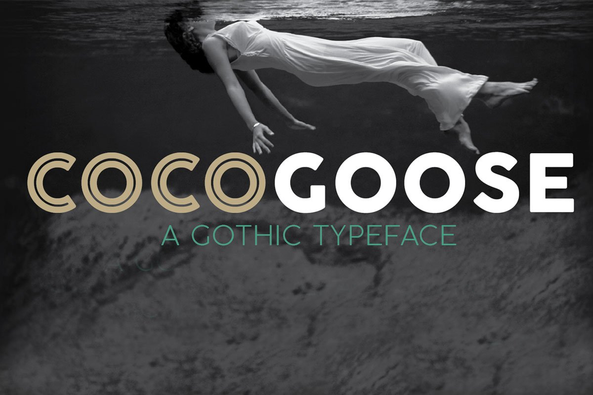 Free Cocogoose Demo Typeface Family
