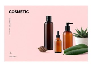 Free Cosmetic Mockup Demo Pack