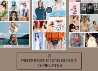 3 Free Pinterest Mood Board Templates