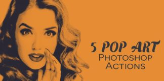 Free Pop Art Photoshop Actions