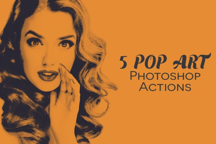 Free Pop Art Photoshop Actions