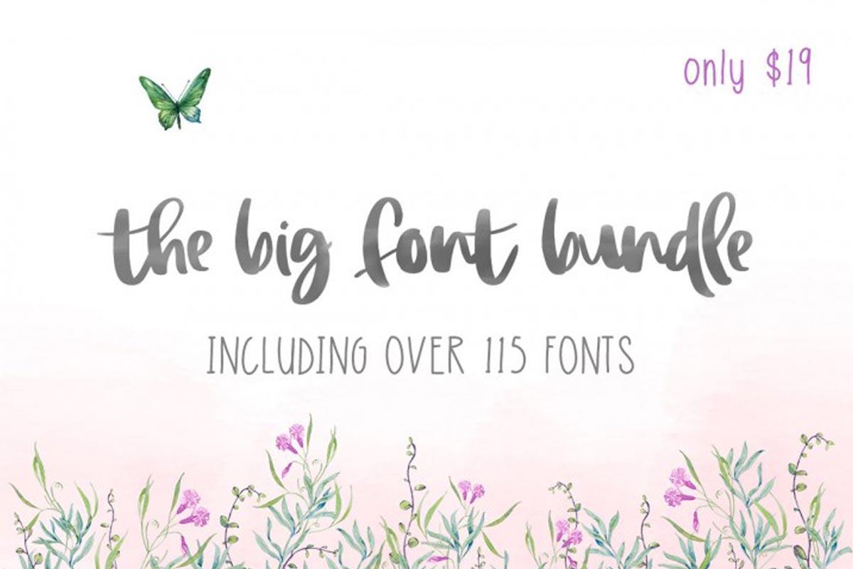 The Big Font Bundle