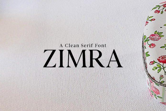 Free Zimra Sans Serif Font