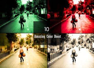 10 Free Color Boost Lightroom Presets