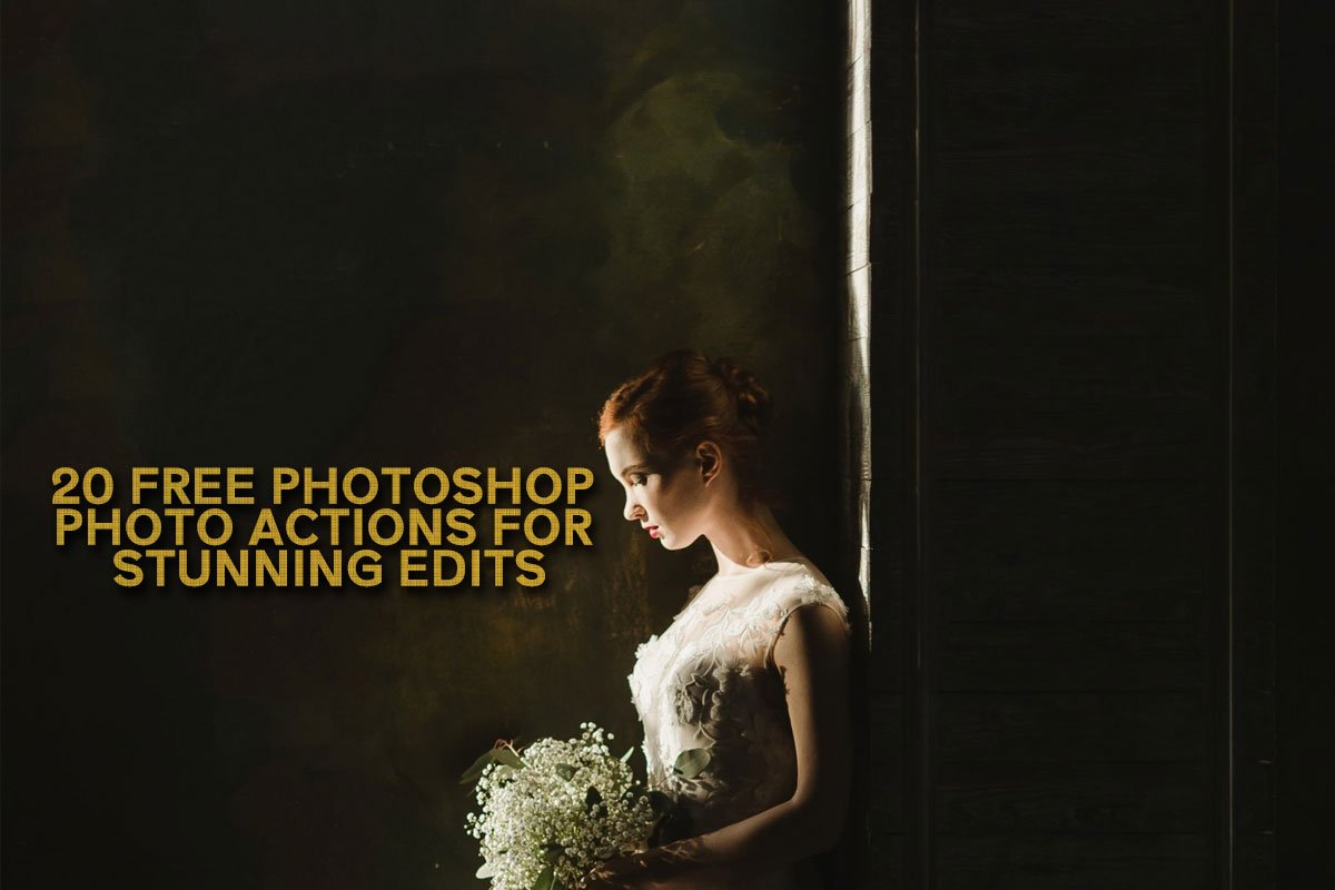 Transform your photos in few clicks with Photoshop photo action pack : 20 Actions to give you 20 mind-blasting results for your photos.