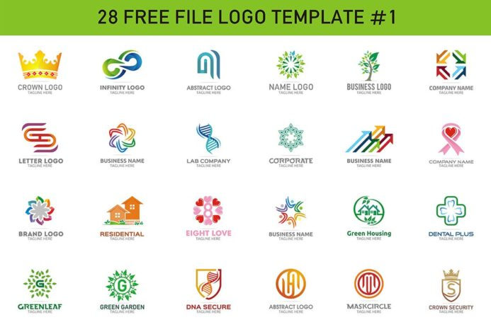 28 Free Modern Color Logo Designs