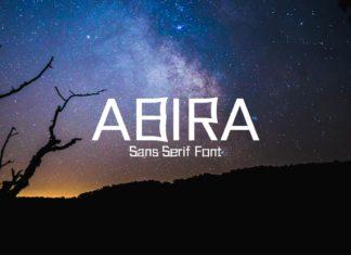 Free Abira Sans Serif Font