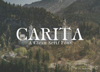 Free Carita Serif Font