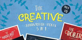 5 Creative Handwritten Fonts