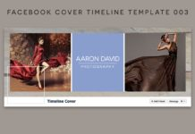Facebook Cover Timeline Template 003