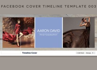 Facebook Cover Timeline Template 003