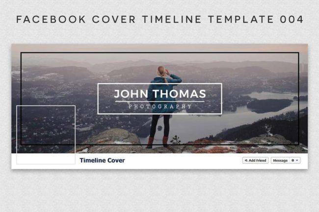 Facebook Cover Timeline Template 4