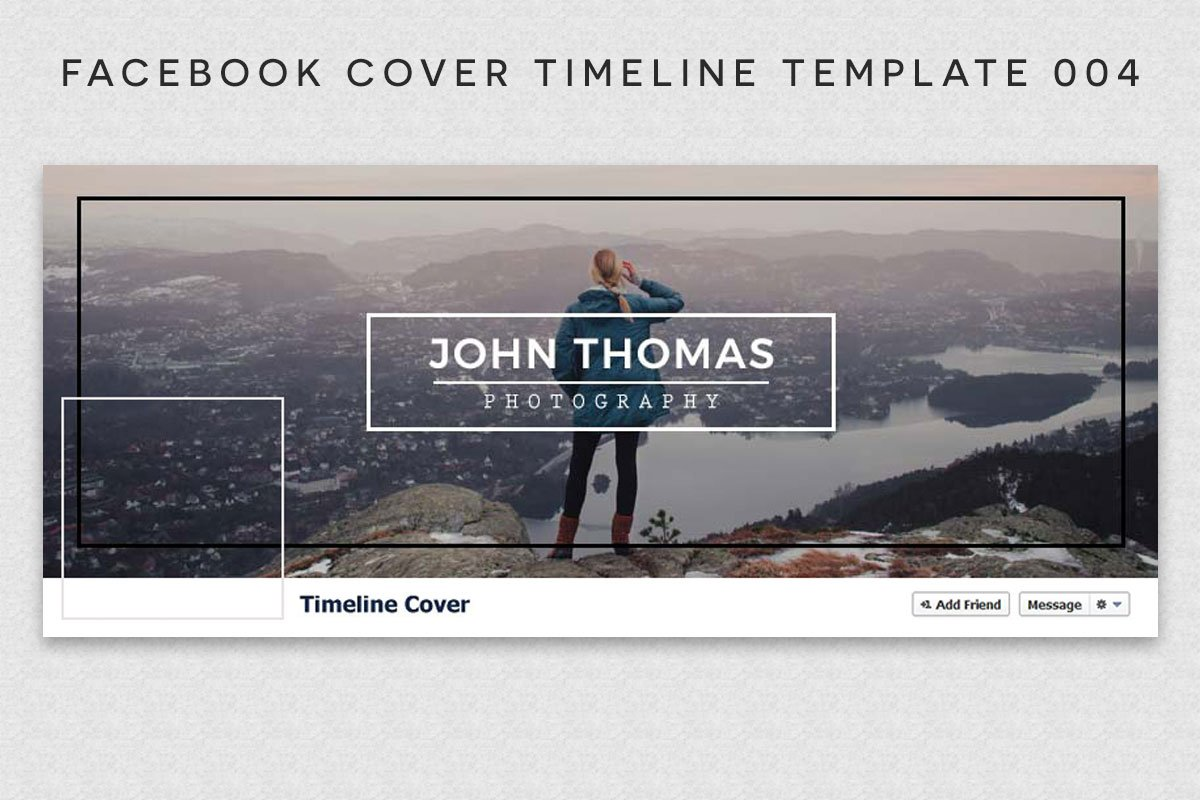 Free Facebook Cover Timeline Template 4 Creativetacos