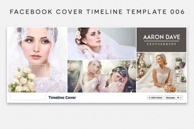 Facebook Cover Timeline Template 6