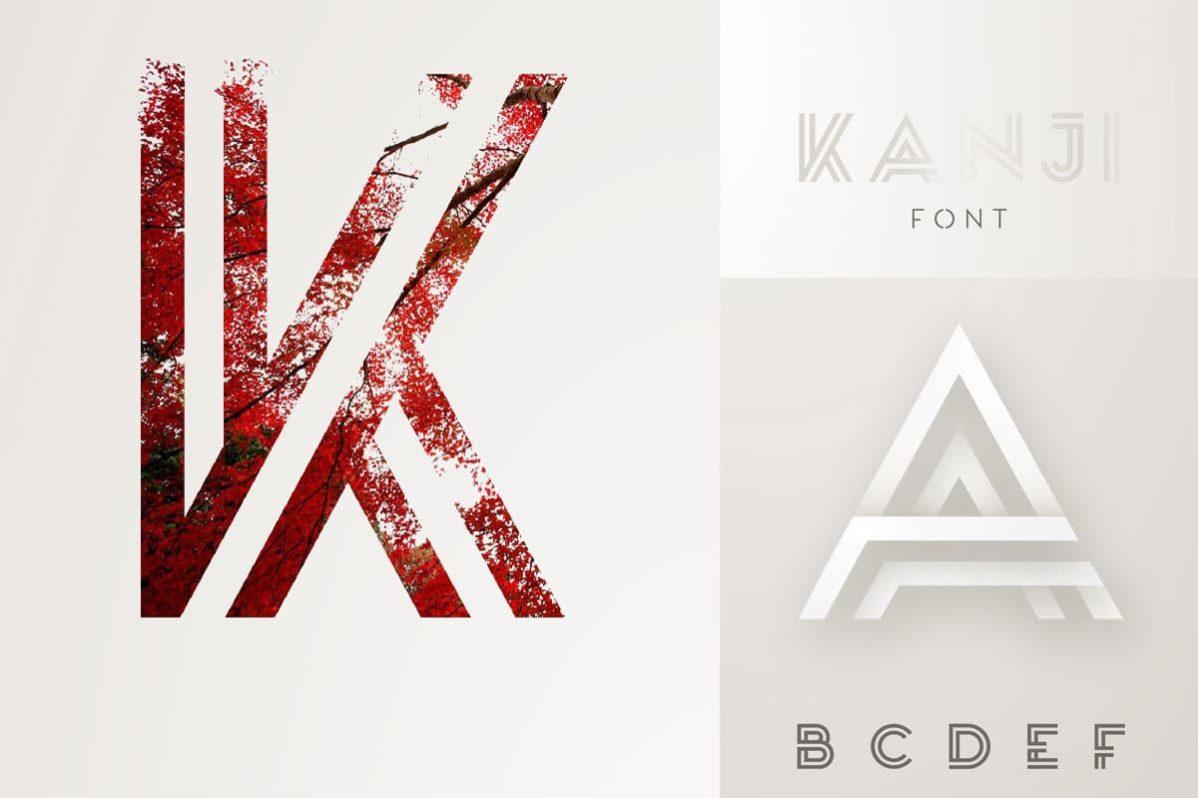 Free Kanji Display Font