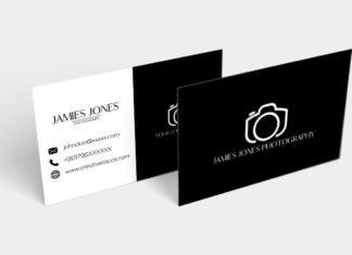 Free BW Minimal Business Card Ver. 2