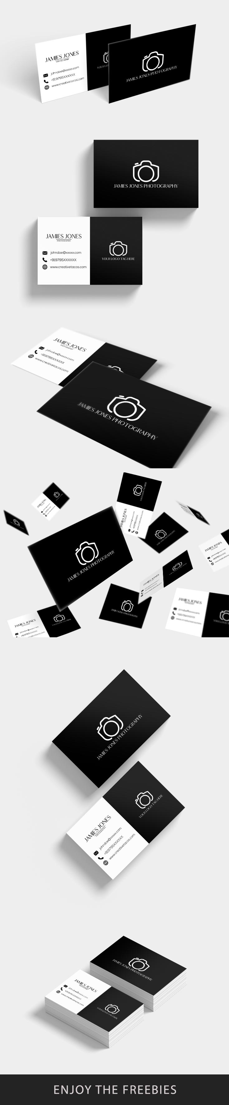 Free Minimal Business Card Ver. 2