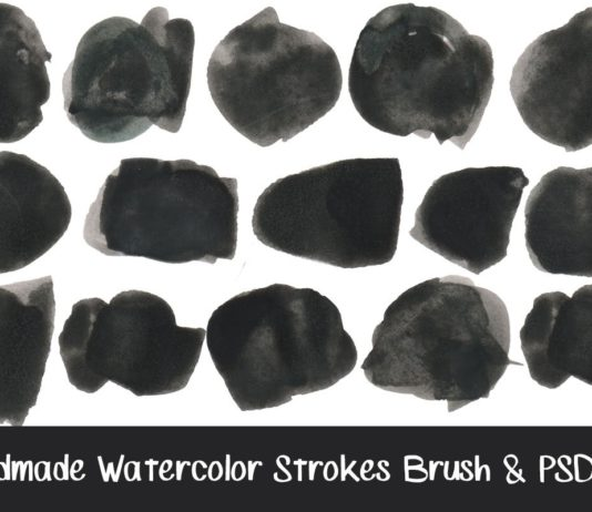 Watercolor Strokes Brushes