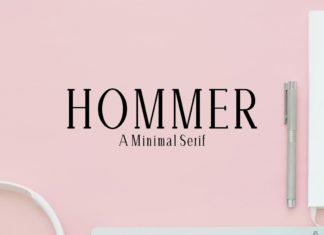 Free Hommer Serif Font