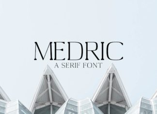 Free Medric Serif Font