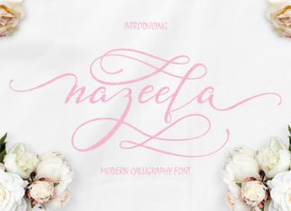 Free Nazeefa Script Font