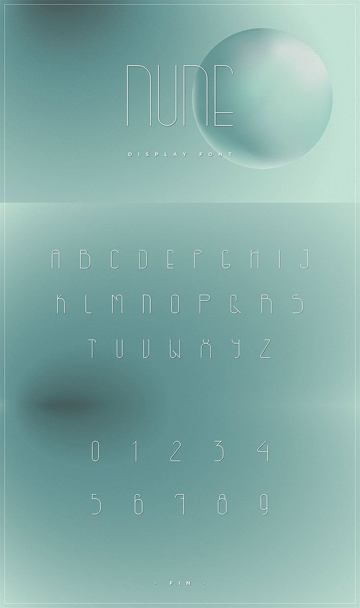 Nune Free Display Font