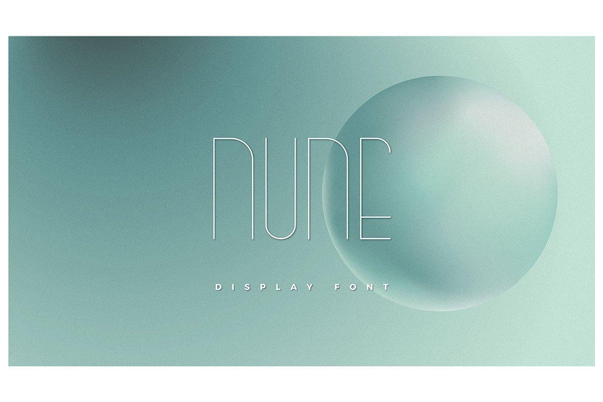 Nune Display Font
