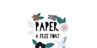 Free Paper Display Font