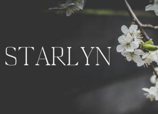Free Starlyn Serif Font