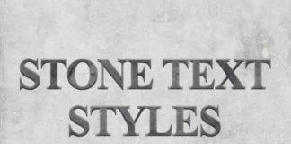 Free Stone Text Styles