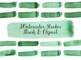 Free Watercolor Strokes Brush Vol. 2