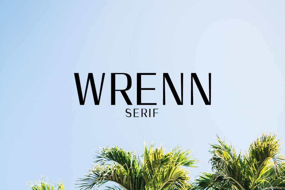 Free Wrenn Modern Sans Serif Font