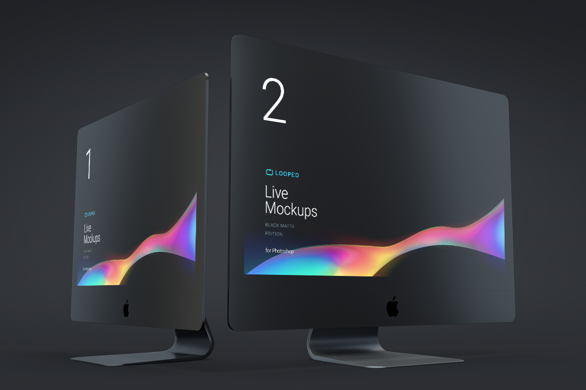Free 8 Apple Devices Mockups for Sketch and Photoshop