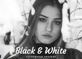 20 Black White Lightroom Preset
