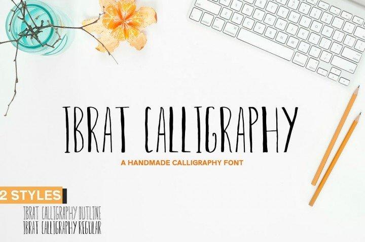 [$1 Deals] Ibrat Calligraphy Font