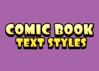 Free Comic Book Text Styles