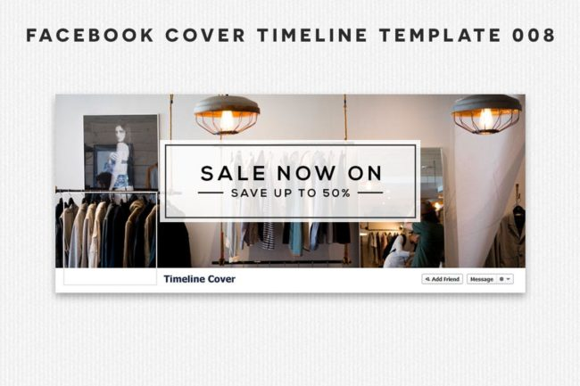 Free Facebook Cover Timeline Template 8