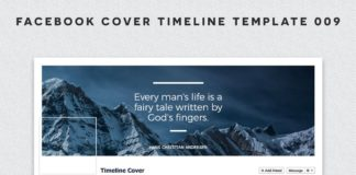Facebook Cover Timeline Template 9